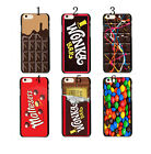 Sweets Willy Wonka Golden Ticket Chocolate Bar Case Cover For iphone 6 / 6 plus