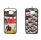 Funny Nutella Wrapper Case Cover For Samsung Galaxy S6