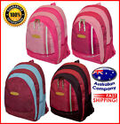 Backpack fashion pink bag school, travel, multi pockets pink maroon red #3065