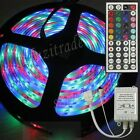 Waterproof LED Strips Roll Light 5M DC 12V 300 5050 SMD Lamp + 44 key IR Remote