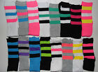 OLD SCHOOL Juniors knee high TUBE SOCKS size 9-11 ( 1 pair ) Brand New