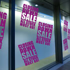 Sale Shop Closing Down Window Transfers & Stickers Decals New Retail New A307