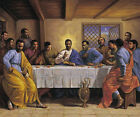 """The Last Supper"" by Sarah Jenkins Poster Print Black Jesus Christianity Art"