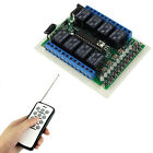 New 12V 8CH12 Keys Remote Controller RF Wireless Switch Learning Code module