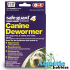 8 in 1 Safeguard 4 Canine Dewormer For Dogs Treatment Of Worms Choose Size
