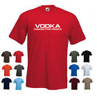 'VODKA Connecting People' - Funny Men's Drinking Birthday Gift T-shirt