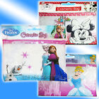 Girls first Cosmetic case zip bag Disney Frozen Minnie Mouse Princess Cinderella