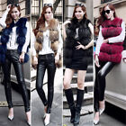 Women Real Fur Vest Long Waistcoat Sleeveless Gilet Jump Price Winter Xmas Style