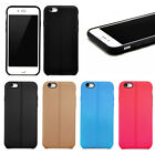 "Hybrid Shockproof Hard&Soft Rubber Case For iPhone 6 iPhone 6s Plus 4.7"" 5.5"