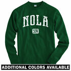 Nola 504 New Orleans Long Sleeve T-shirt LS - Saints Pelicans LA - Men / Youth $29.99 USD on eBay