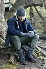 Mens 1 Pack Heat Holders 3.4 Tog Heatweaver Yarn Hat In Charcoal