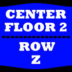 2 TIX JEFF DUNHAM 2/12 FLOOR 2 ROW Z ROYAL FARMS ARENA BALTIMORE