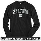 San Antonio 210 Long Sleeve T-shirt LS - Texas Spurs The Alamo TX - Men / Youth on eBay