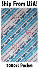 2000cc Oxygen Absorbers / Scavengers - Great For 1 or 2 Gallon Food Storage! NEW