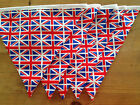 Union Jack bunting - classic red, white and blue for that fete or picnic