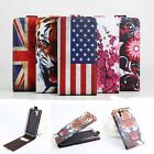 "Printed Folio PU Leather Case Cover Skin For 5"" ASUS Padfone X /Padfone S Phone"