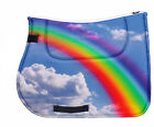 Horse saddle pad RAINBOW