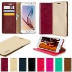 Goospery PU Leather Wallet Slim Flip Stand Case For Samsung Galaxy A5 A8 J5
