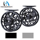 2/3/4/5/6/7/8 WT Fly Reel CNC Machined Cut Aluminum Trout Fly Fishing Reel & Bag