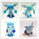 """Pokemon Plush Toy Eevee Glaceon  4.7"""" 6"""" 8"""" 12"""" Doll Beanie Hat Brand New 5 Size"""