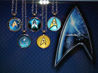 Star Trek Cabochon Pendant Necklace on Rolo Chain with lobster claw - 5 designs