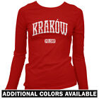 Krakow Poland Women's Long Sleeve T-shirt LS - Polonia Polish Cracow Polska S-2X