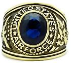 United States US Air Force Ring Blue Size 8 9 13 14 P R W Yellow LTK414708GE
