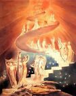 Jacob's Ladder by William Blake (classic art print)