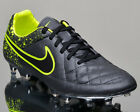 Nike Tiempo Legacy FG men soccer cleats football NEW anthracite volt 631521-007 $59.5 USD