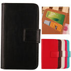 "Flip Wallet Custodia In Pelle Cover Case Per Mediacom PhonePad Duo G551 5.5"" 4G"