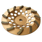 Spiral Turbo Diamond Cup Wheels for Concrete Grinding (Single-row, Multi-size)