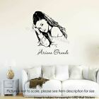 Ariana Grande Celebrity wall sticker, Girl room decals, Home decor, wall art