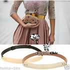 Fashion Chic  CelebStyle Metallic Mirror Gold Plate Metal Belt