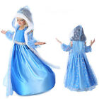 Children Girls Froze Elsa and Anna Costume Princess party Fancy dress any size