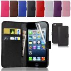 Flip  Leather Phone Case Cover For Apple iPhone 6S 7 8 7Plus Samsung Galaxy