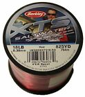 Berkley XTS Saltwater Red Sea Fishing Mono Bulk Spools – All Sizes Available