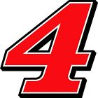 New for 2017 #4 Kevin Harvick Racing Sticker Decal SM-XL various colors