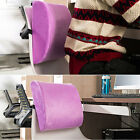 Memory Foam Lumbar Back Support Cushion Pillow Pad Office Car Seat Chair 2221