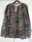 New Mens Camouflage Woodland / Tree's Design Long Sleeved T-Shirt  5 Sizes