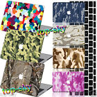 """CAMO Camouflage Painted Hard Logo Cut Case Cover For Macbook Pro 13""""15""""Air 11""""12"""