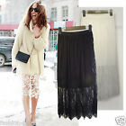 CelebStyle Broderie Lace Skirt