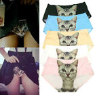 Funny Cartoon Sexy Pussycat Panties Briefs Anti Emptied Cat Meow Star Cat Pants