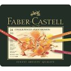 Faber Castell polychromos pencils tins of 12 24 36 60 and 120