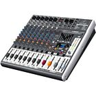 Behringer Xenyx X1222 USB Interface 2/2 Bus 16 Input Professional Mixer