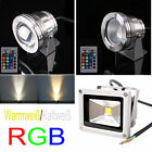 10W LED Floodlight Waterproof Lamp Convex Glass DC 12V N04021
