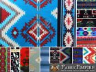 "Polar Fleece Printed Fabric AZTEC 60"" Wide Sold By the Yard"