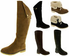 Womens KEDDO Boots Warm Lined Winter Ladies Cosy WIN-TEX Boot Sizes 3 4 5 6 7 8