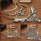 Fashion Charm Jewelry Chain Pendant Crystal Choker Chunky Statement Necklace SH
