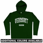 Vermont Represent Hoodie - Burlington Killington Stratton UVM VT 802 - Men S-3XL