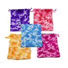 Tie-Dyed Tie Dye Camouflage Drawstring Party Favor Bags Storage Lot Multi-Color